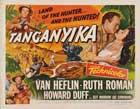 Tanganyika - 22 x 28 Movie Poster - Half Sheet Style B