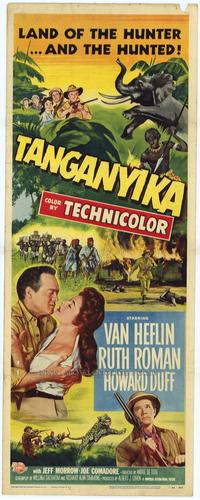 Tanganyika - 14 x 36 Movie Poster - Insert Style A