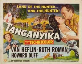 Tanganyika - 22 x 28 Movie Poster - Half Sheet Style A