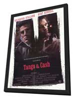 Tango and Cash - 27 x 40 Movie Poster - Style A - in Deluxe Wood Frame