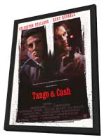 Tango and Cash - 11 x 17 Movie Poster - Style A - in Deluxe Wood Frame
