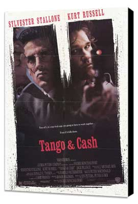Tango and Cash - 27 x 40 Movie Poster - Style A - Museum Wrapped Canvas