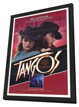 Tangos, the Exile of Gardel - 11 x 17 Movie Poster - Style A - in Deluxe Wood Frame