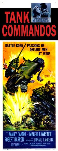 Tank Commandos - 11 x 17 Movie Poster - Style A
