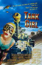 Tank Girl - 11 x 17 Movie Poster - Style B