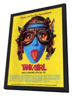 Tank Girl - 11 x 17 Movie Poster - Style D - in Deluxe Wood Frame