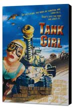 Tank Girl - 27 x 40 Movie Poster - Style D - Museum Wrapped Canvas