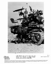 Tank Girl - 8 x 10 B&W Photo #3