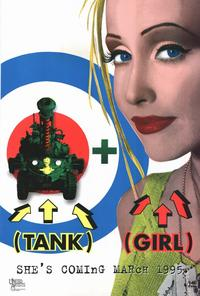Tank Girl - 11 x 17 Movie Poster - Style C