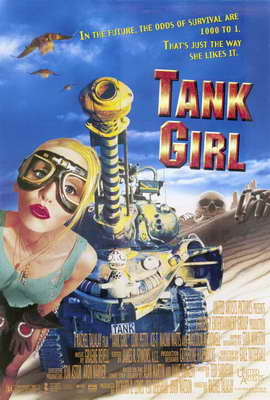 Tank Girl - 27 x 40 Movie Poster - Style B