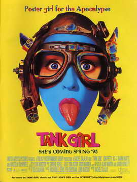 Tank Girl - 11 x 17 Movie Poster - Style D