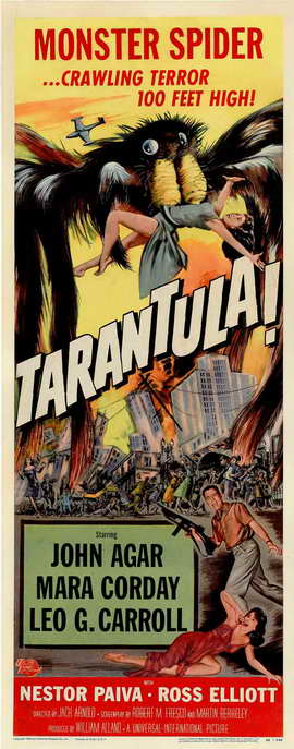 Tarantula - 14 x 36 Movie Poster - Insert Style A