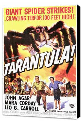 Tarantula - 11 x 17 Movie Poster - Style A - Museum Wrapped Canvas