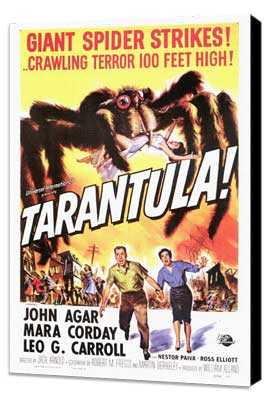 Tarantula - 27 x 40 Movie Poster - Style A - Museum Wrapped Canvas