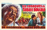 Taras Bulba - 27 x 40 Movie Poster - Belgian Style A