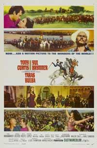 Taras Bulba - 11 x 17 Movie Poster - Style A
