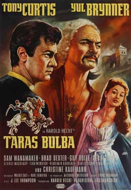 Taras Bulba - 27 x 40 Movie Poster - German Style A