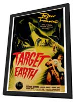 Target Earth - 27 x 40 Movie Poster - Style A - in Deluxe Wood Frame
