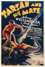 Tarzan and His Mate - 11 x 17 Movie Poster - Style A