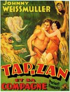 Tarzan and His Mate - 11 x 17 Movie Poster - Belgian Style B