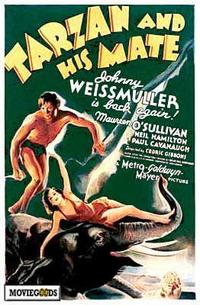 Tarzan and His Mate - 43 x 62 Movie Poster - Bus Shelter Style A