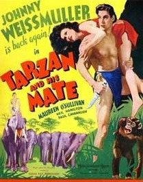 Tarzan and His Mate - 22 x 28 Movie Poster - Half Sheet Style B