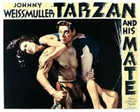 Tarzan and His Mate - 11 x 14 Movie Poster - Style B
