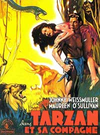 Tarzan and His Mate - 11 x 17 Movie Poster - Spanish Style A