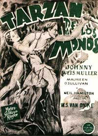 Tarzan and His Mate - 11 x 17 Movie Poster - Style I