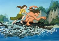 Tarzan & Jane - 8 x 10 Color Photo #1