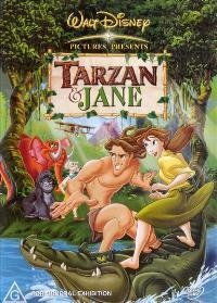Tarzan & Jane - 11 x 17 Movie Poster - Style A
