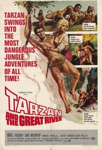 Tarzan and the Great River - 11 x 17 Movie Poster - Style A