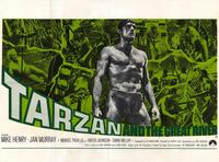 Tarzan and the Great River - 11 x 17 Movie Poster - Style B