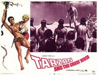Tarzan and the Great River - 11 x 14 Movie Poster - Style B