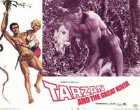 Tarzan and the Great River - 11 x 14 Movie Poster - Style F