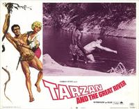 Tarzan and the Great River - 11 x 14 Movie Poster - Style C