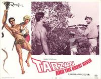 Tarzan and the Great River - 11 x 14 Movie Poster - Style G