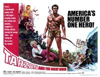Tarzan and the Great River - 11 x 14 Movie Poster - Style D