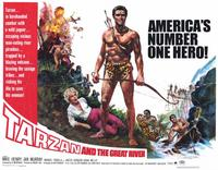 Tarzan and the Great River - 11 x 14 Movie Poster - Style H