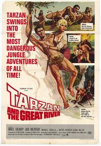 Tarzan and the Great River - 27 x 40 Movie Poster - Style A