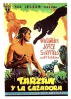 Tarzan and the Huntress - 11 x 17 Movie Poster - Spanish Style B