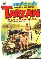 Tarzan and the Huntress - 11 x 17 Movie Poster - Spanish Style C