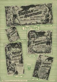 Tarzan and the Huntress - 27 x 40 Movie Poster - Style B