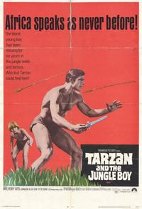 Tarzan and the Jungle Boy - 11 x 17 Movie Poster - Style B
