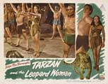 Tarzan and the Leopard Woman - 11 x 14 Movie Poster - Style E