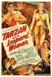 Tarzan and the Leopard Woman - 27 x 40 Movie Poster - Style A