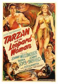 Tarzan and the Leopard Woman - 43 x 62 Movie Poster - Bus Shelter Style A
