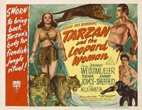 Tarzan and the Leopard Woman - 11 x 14 Movie Poster - Style A