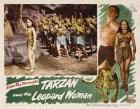 Tarzan and the Leopard Woman - 11 x 14 Movie Poster - Style B