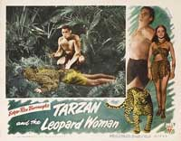 Tarzan and the Leopard Woman - 11 x 14 Movie Poster - Style C